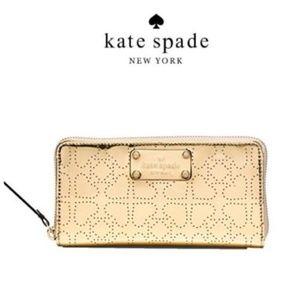 Kate Spade Metro Spade Neda Continental Zip Wallet